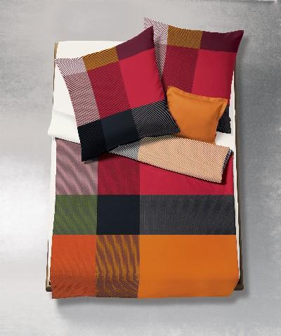 bettw sche biber karos logo gmbh natur shop24. Black Bedroom Furniture Sets. Home Design Ideas